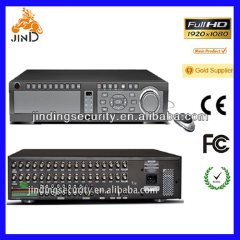 32 Channel 2U Standalone DVR with Large Storage Support 7SATA HDD