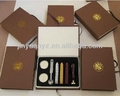Wholesale wood handle sealing Wax Stamps set 3 pcs wax+ 1spoon