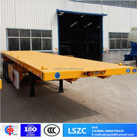 3 Axle 40ft Flatbed Container Semi