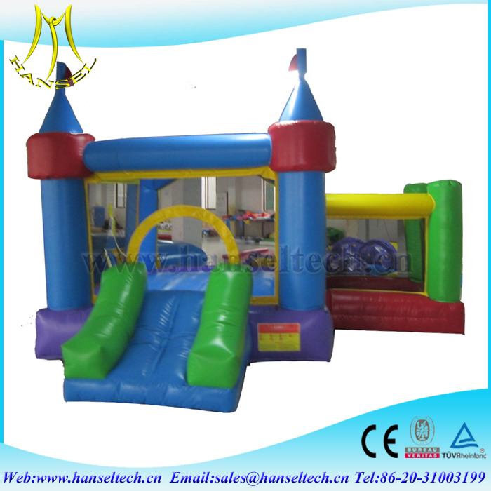 Hansel Inflatable Small Slide, Inflatable Combo, Bounce Castle from factory directly