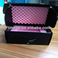 Antistatic Black Corrugated PP plastic boxes for electronic products
