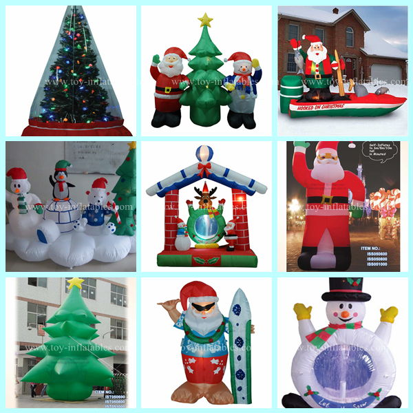 Hot selling cheap inflatable abominable snowman christmas for Abominable snowman holiday decoration