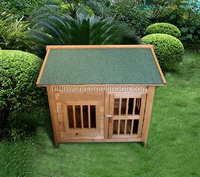 Non-toxic outdoor wooden dog house wooden pet cage