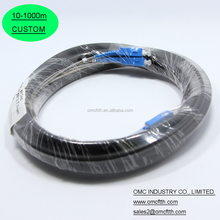 New design SC to SC 2 fibers Outdoor Armored fiber patch cable with OEM service
