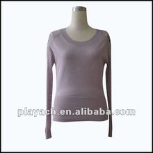 ladies long sleeve pullover,Fashion women sweters for spring 2012