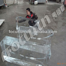 Clear/Transparent block ice machine/plant for ice curve