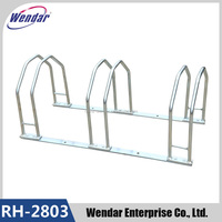 3 steel outdoor floor steel bicycle rack,cycling bike display stand,custom bike parking rack