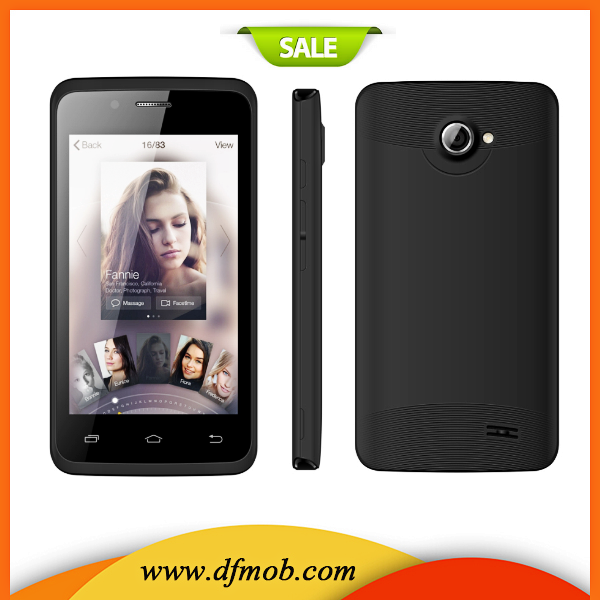 4.0 Inch FWVGA Touch Screen MTK6572 Dual Core Androide 4.4 3G Unlocked Cell Phone Sale Cheap K4001