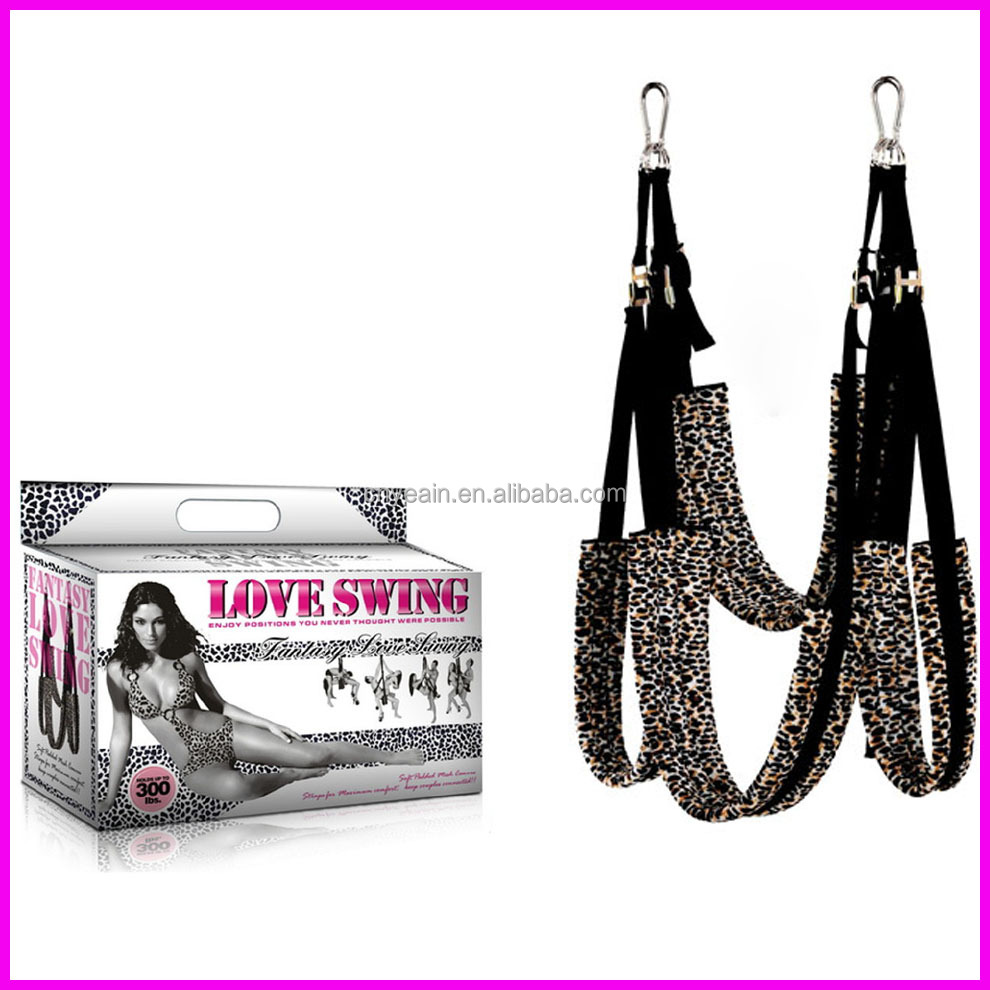 Fifty shades Fantasy Love Swing.SM Bondage games,adult sex toys
