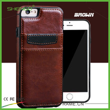 High Quality Luxury Sublimation Phone Cases Blanks PU Leather Wallet Card Holder Leather Case for Samsung S7/S7 Edge