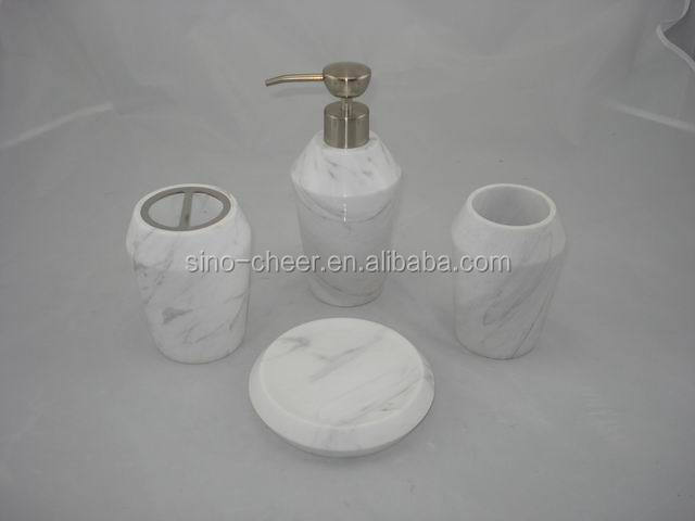 new design european style soap dish white marble bathroom accessory