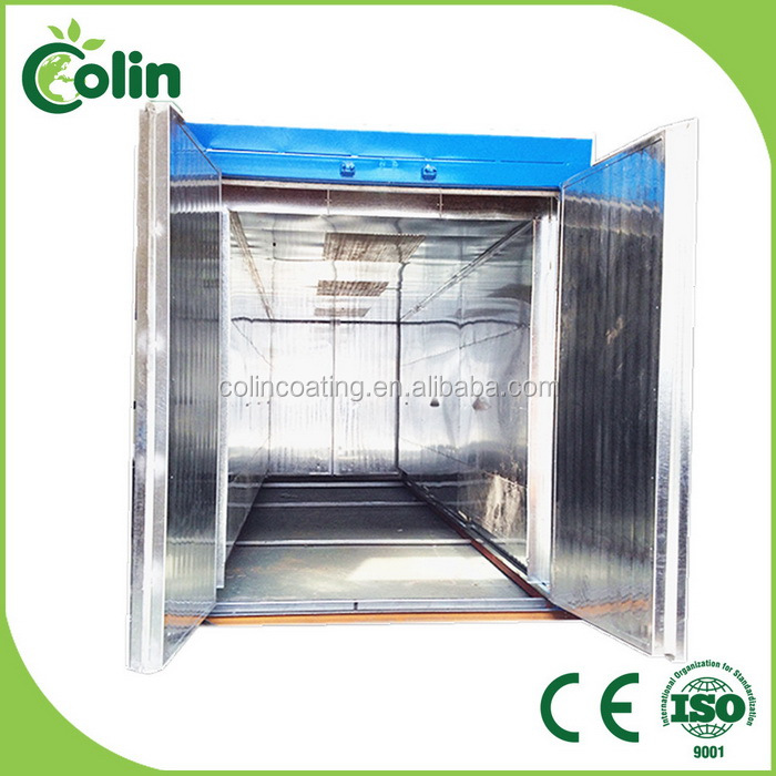 Quality assured best sell high temperature pressure powder coating oven