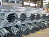 galvanized steel pipe/tube for water transfer