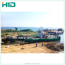 22 inch hydraulic cutter suction dredger for river sand dredging