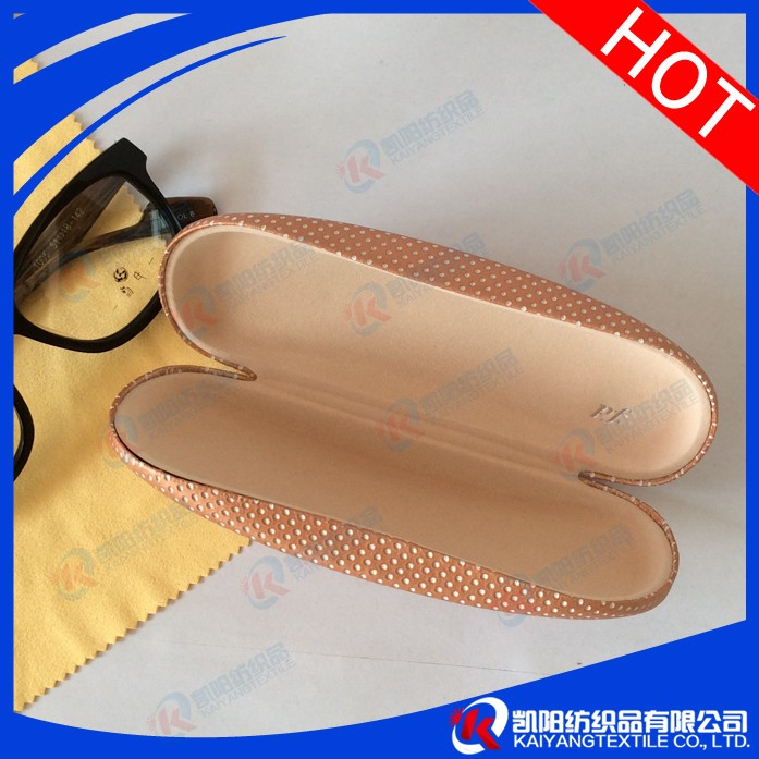 Alibaba sale custom double eyeglass case