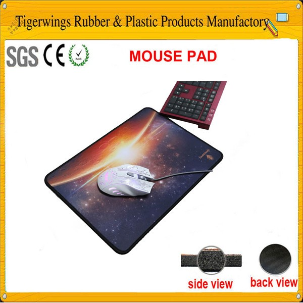 Tigerwingspad professional breast natural rubber gaming mouse pad