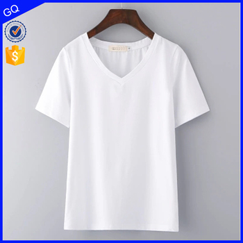 2017 Newest brand fashion clothing custom design women wholesale blank t shirt