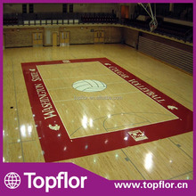 Indoor Volleyball Equipment Used Hardwood Sports Court Flooring
