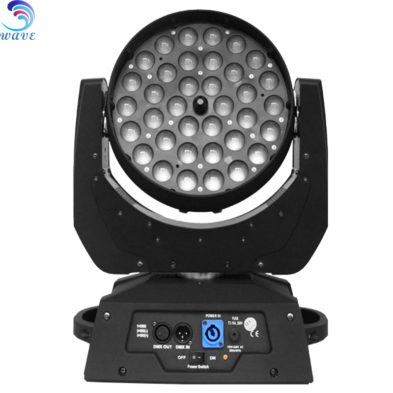 High Brightness China Zoom Led Moving Head Wash 36pcs 360w 4in1 Disco Stage Lights Price for night club 2017