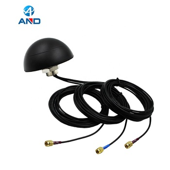 Low-Profile MIMO LTE GPS 3-in-1 Combination Screw Mount Vehicle Antenna