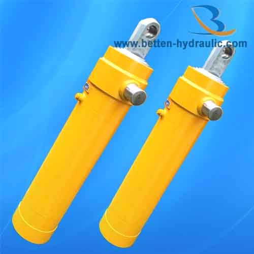 Dump truck telescopic lift hydraulic cylinder for sale