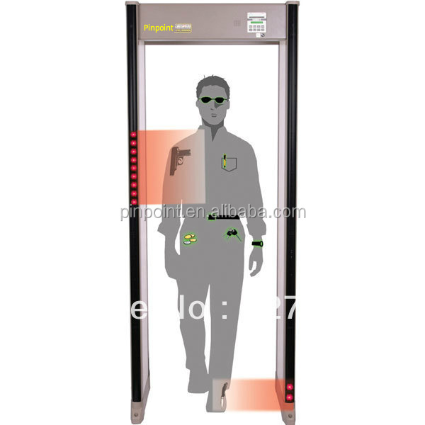 CE~Password-protected settings Security Door Frame Metal Detector,Detector Gates PD-6000i