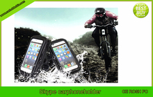 2015 factory direct waterproof bike cell phone holder for iphone sumsung phone