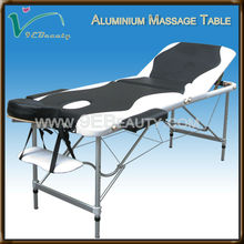 wood leisure massage table with split leg