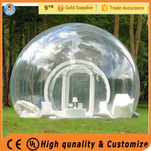 High quality outdoor camping tent / inflatable bubble tent for kids