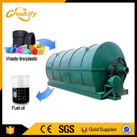 Waste tyre pyrolysis oil refining equipment to fuel oil