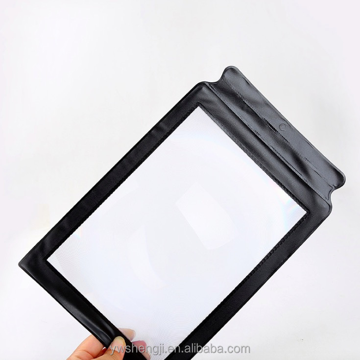 Factory Sale A4 Full Big Reading Magnifying Glass for Elderly