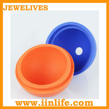 silicone cube ice tray/ customs silicone ice cream/Ball shape silicone ice tray