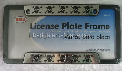 license plate frame ,american size plate frame