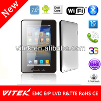 Hot selling Camera Dual Core IPS 7 inch city call android phone Tablet pc