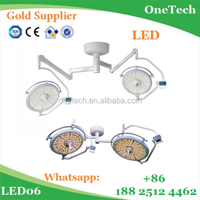 Medical equipment Shadowless LED Operating Light / hospital surgical led operation theatre light with 128 LED bulbs LED06