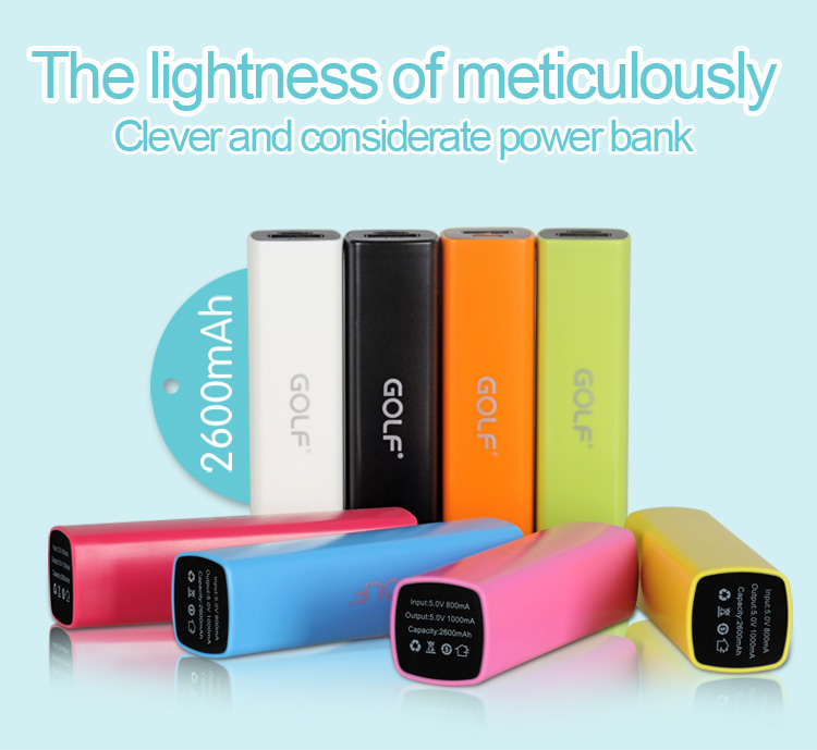 2015 new products portable mobile phone charger 2600mah power bank for smartphone on alibaba china