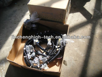 pc200-7 excavator internal cabine wire harness loom
