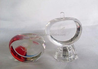 Flat Faced Crystal Apple Crafts MH-G0300