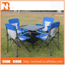 Outdoor Garden Leisure 8Portable 5 pcs Set able and Chairs