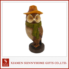 New High quality decorative resin owl for sale
