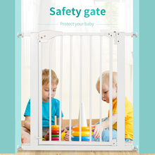 High quality metal Pet friendly kids safetygates /baby safety gate/child safe ty gate with extension