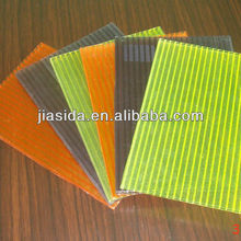 6mm Twin-wall Transparent Polycarbonate hollow sheet