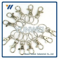 High Quality Professional ODM 150 KGS Swivel Eye Lifting Silver Tone Hook w Latch