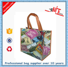 Alibaba professional manufacturer factory price pp laminated non woven bag made by nice packing