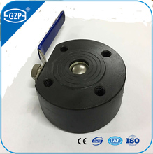 China ANSI standard Stainless steel 304 or 316L size from DN15 to DN 150 V-port full bore flanged wafer ball valve