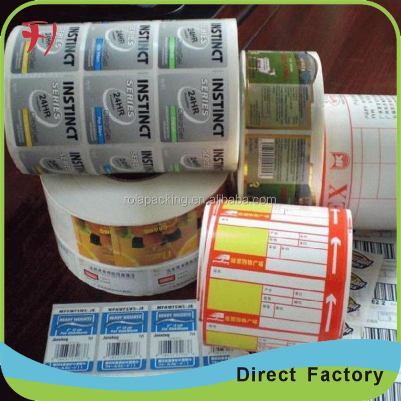 Most reasonable price recyclable anti-fake egg shell sticker, printer label, self adhesive label sticker paper
