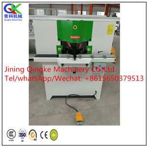 double head cutting saw for aluminum profile/window making