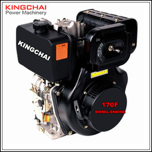 6 hp air cooled diesel engine 178f single cylinder 4-stroke small engine for generator and water pump use