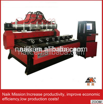 High Quality wood/foam/stone 4 axis milling machine cnc 3d wood carving machine 10STC-2412-8
