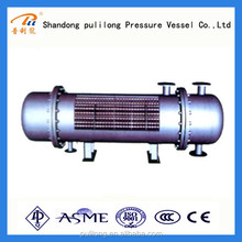 ASME qualified threaded pipe tube and shell heat exchanger